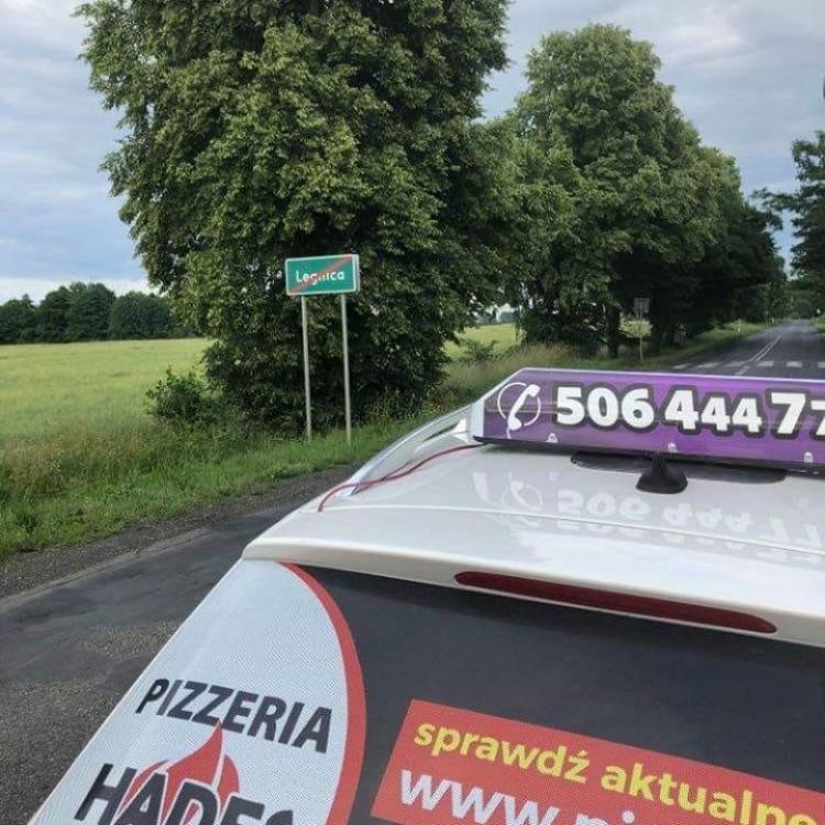 Poranna podróż taksówką z Oławy do Legnicy