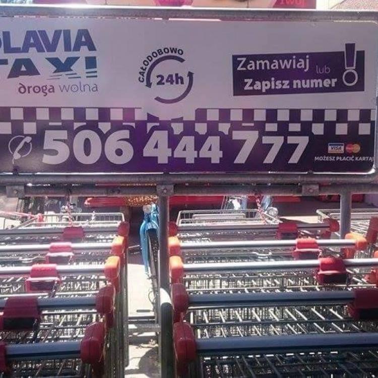 Nowa reklama przy Kauflandzie w Oławie