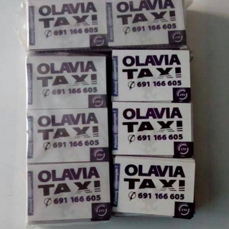 Magnesiki reklamowe Olavia Taxi