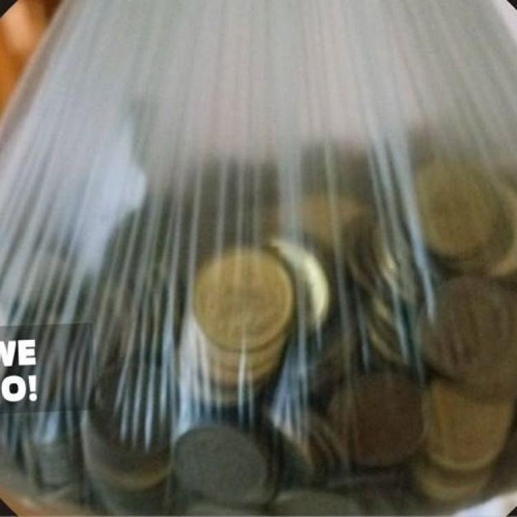 Klient zapłacił grosikami za kurs taksówką