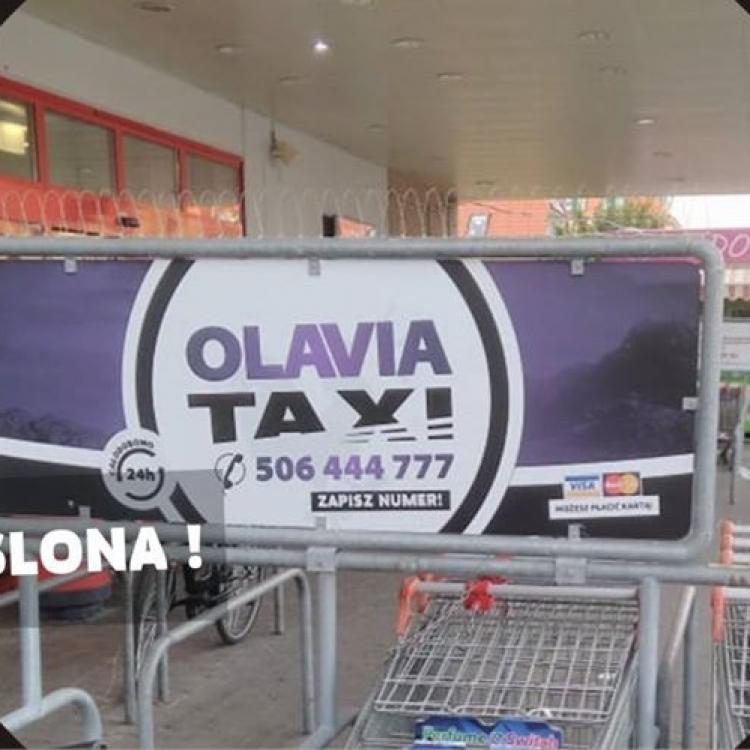 Nowa reklama przy Markecie Kaufland w Oławie