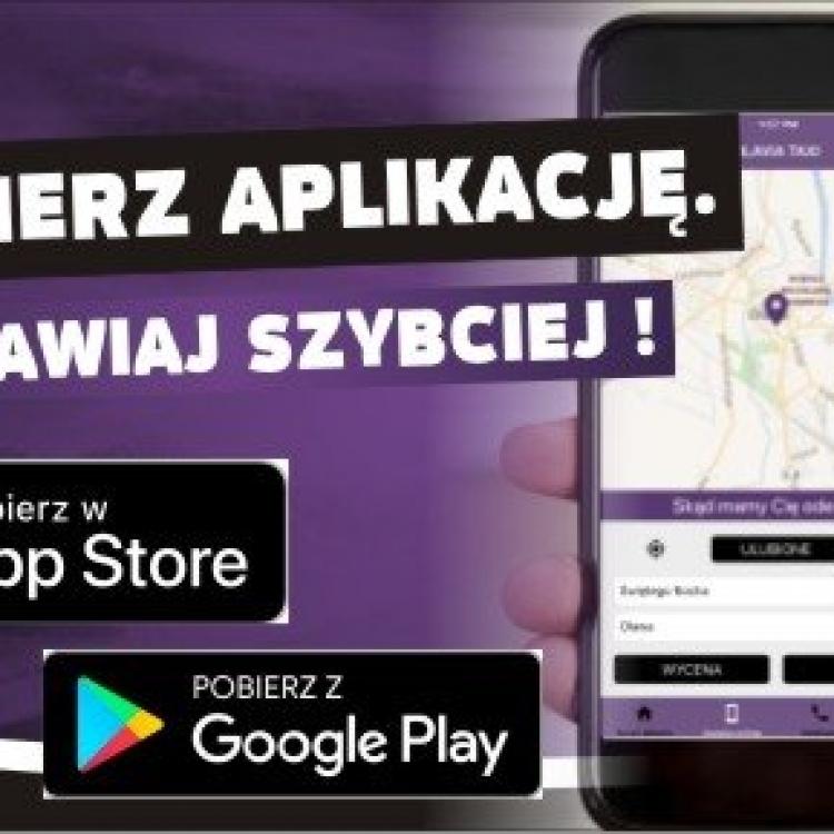 Zamawiaj Olavia Taxi przez aplikację !