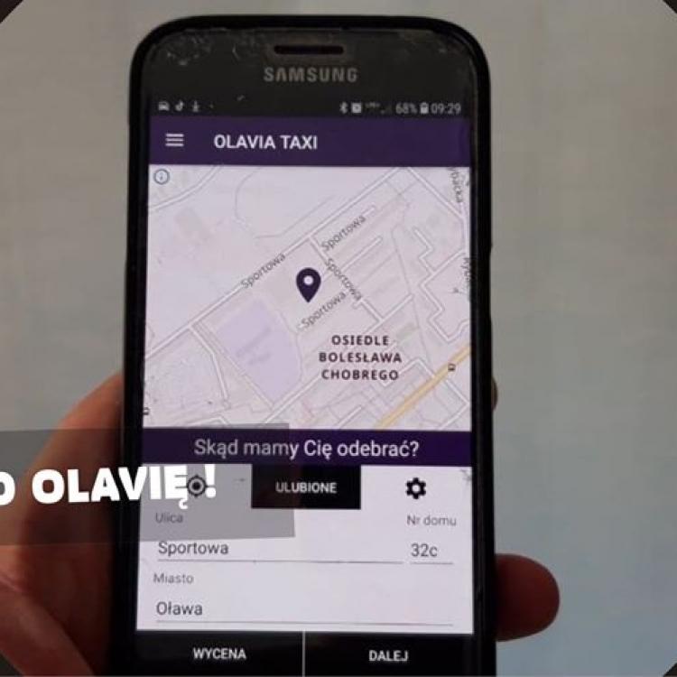 Zamawiaj Taxi w Oławie taniej przez aplikację