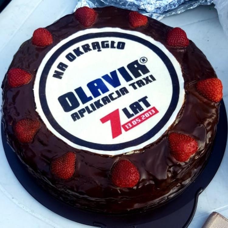 Tort na 7-lecie Olavia Taxi